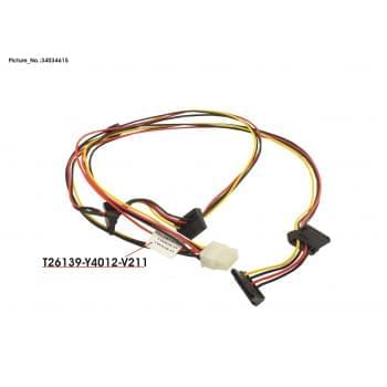 CABLE SATA PWR MX130S2