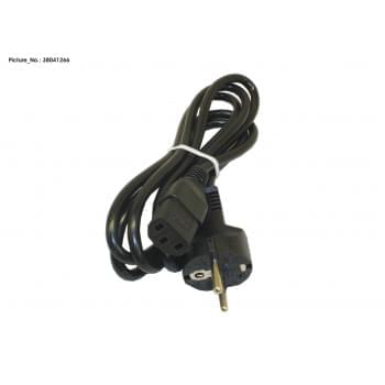 POWERCABLE EU 1,8M BLACK