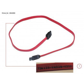 CABLE SATA (590MM)