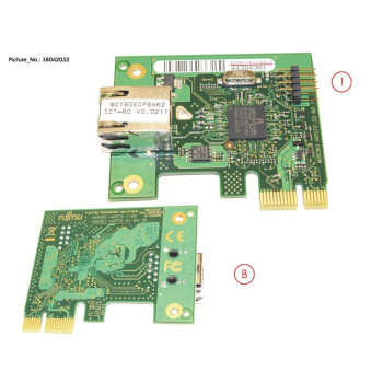 DASH LAN CARD, GE PCIE X1, DS