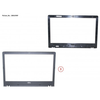 LCD FRONT COVER ASSY
