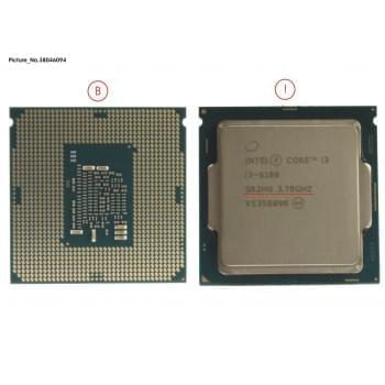 CPU CORE I36100 3.7GHZ 65W