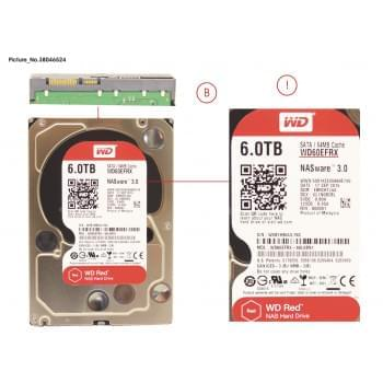 HDD 6TB WD RED FOR NAS