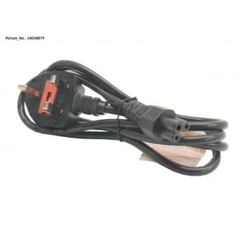 POWER CABLE (UK) 3PIN