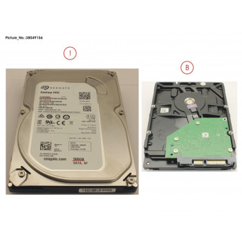 HDD 500GB SATA S3 7.2K 3.5 4K
