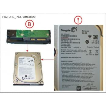 HDD 500GB SATA S3 7.2K 3.5...