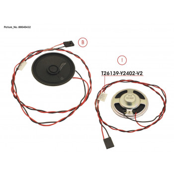 CABLE WITH SPEAKER (630MM)
