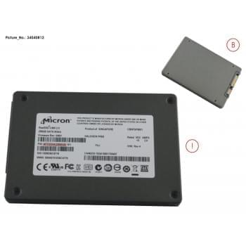 SSD S3 256GB 2.5/MOI (7MM)...