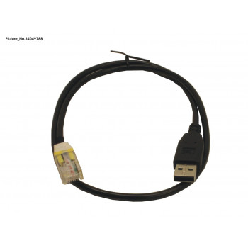 CABLE USB TO RJ48