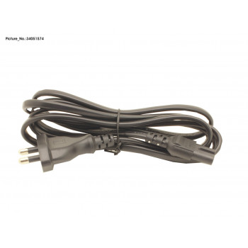 POWER CABLE (IND) 2PIN