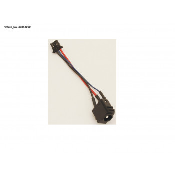 DC/IN CONNECTOR W/CABLE