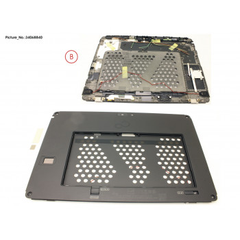 LCD BACK COVER ASSY W/...