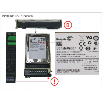HD SATA 3G 500GB 7.2K HOT...