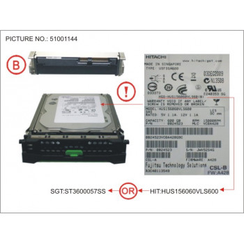 HD SAS 6G 600GB 15K HOT...