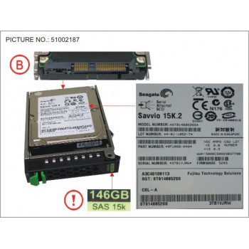 HD SAS 6G 146GB 15K HOT PL...