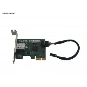 GIGABIT ETHERNET PCIE X1,...