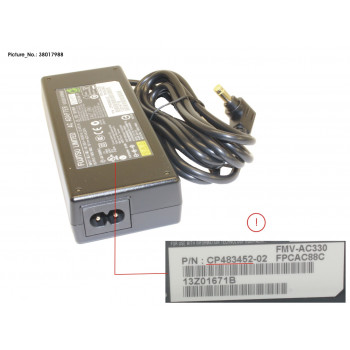 ACADAPTER 19V 80W (FOR 0W)