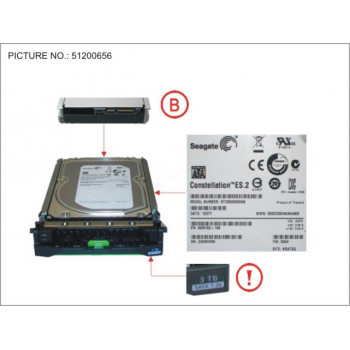 HD SATA 6G 3TB 7.2K HOT...