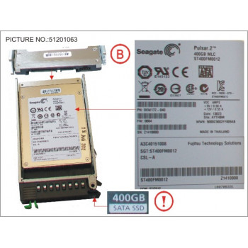 SSD SATA 6G 400GB MLC HOT P...