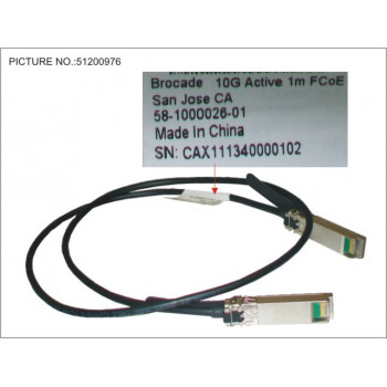 SFP+ ACTIVE TWINAX CABLE...
