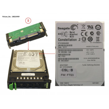 HD SAS 6G 1TB 7.2K HOT PL...