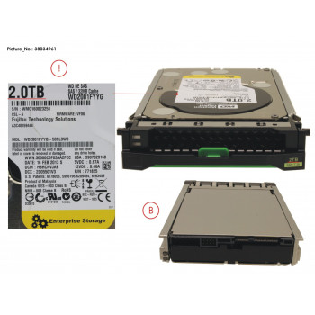 HD SAS 6G 2TB 7.2K HOT PL...