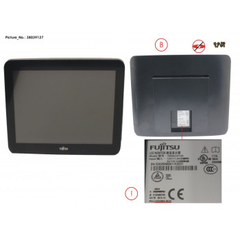 D75 15 LCD NON TOUCH BLACK