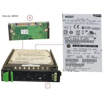 HD SAS 6G 1.2TB 10K HOT PL...